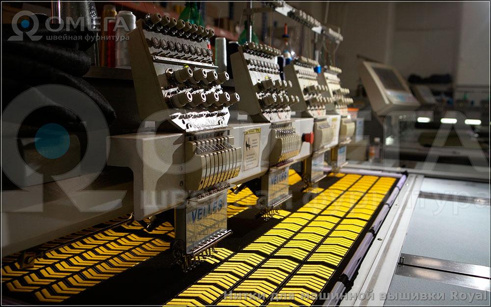 Пример машинной вышивки №11