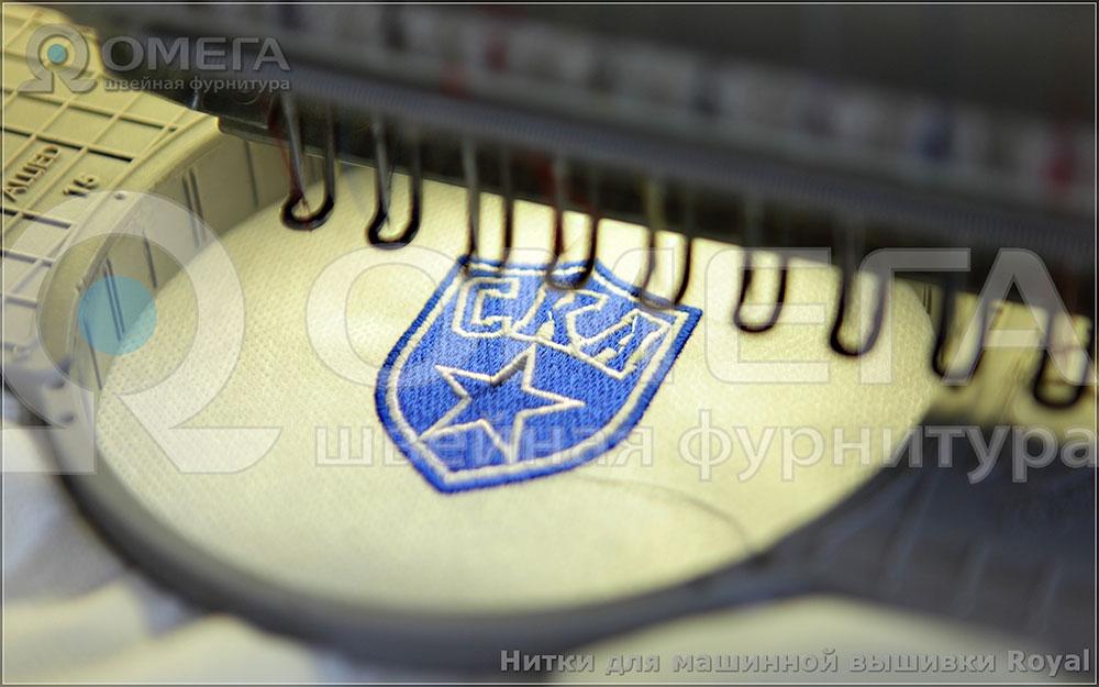 Пример машинной вышивки №2