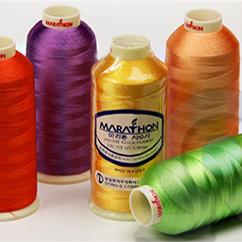Нитки для машинной вышивки из Вискозы Marathon