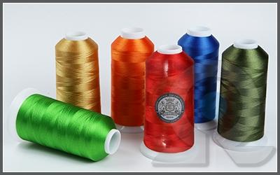Нитки для машинной вышивки, Crown-tex, Вискоза