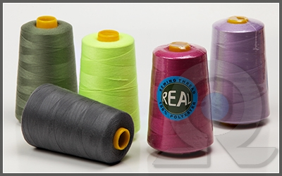 Карта цветов швейных ниток Real,